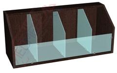 Витрина для конфет (конфетница для стеллажей шириной 850 мм)