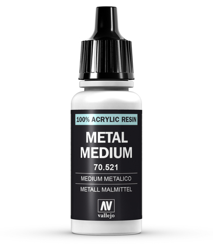 Metal Medium 17 ml.