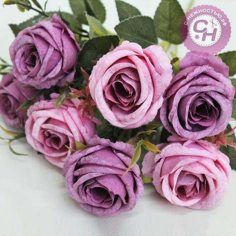 Розы искусственные евро