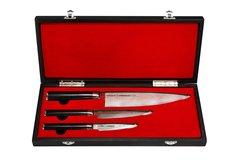 SD-0220 Набор из 3-х ножей Samura Damascus (Подарочный деревянный кейс)