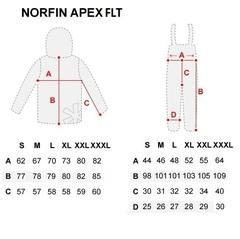 Костюм рыболовный плавающий зимний NORFIN Apex FLT, размер L