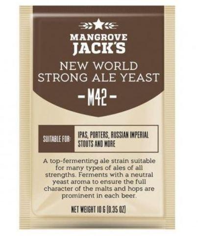 Пивные дрожжи Mangrove Jack's CS yeast m42 - new world strong ale