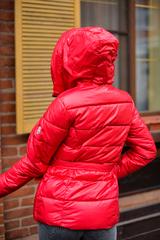 Куртка плащевка с капюшоном женская купить