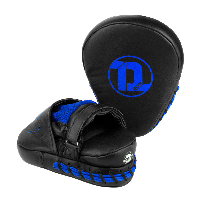 Лапы Dozen Monochrome черно-синие общий вид