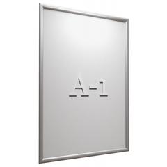 Рамка А1 Attache, алюм.клик-профиль 25 мм, настенная