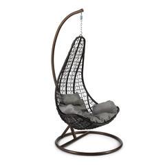 Кресло подвесное (mod. SC-010) с подушкой (коричневый)