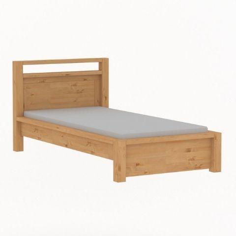 Кровать односпальная Фьорд, 90x200 (датский бейц)