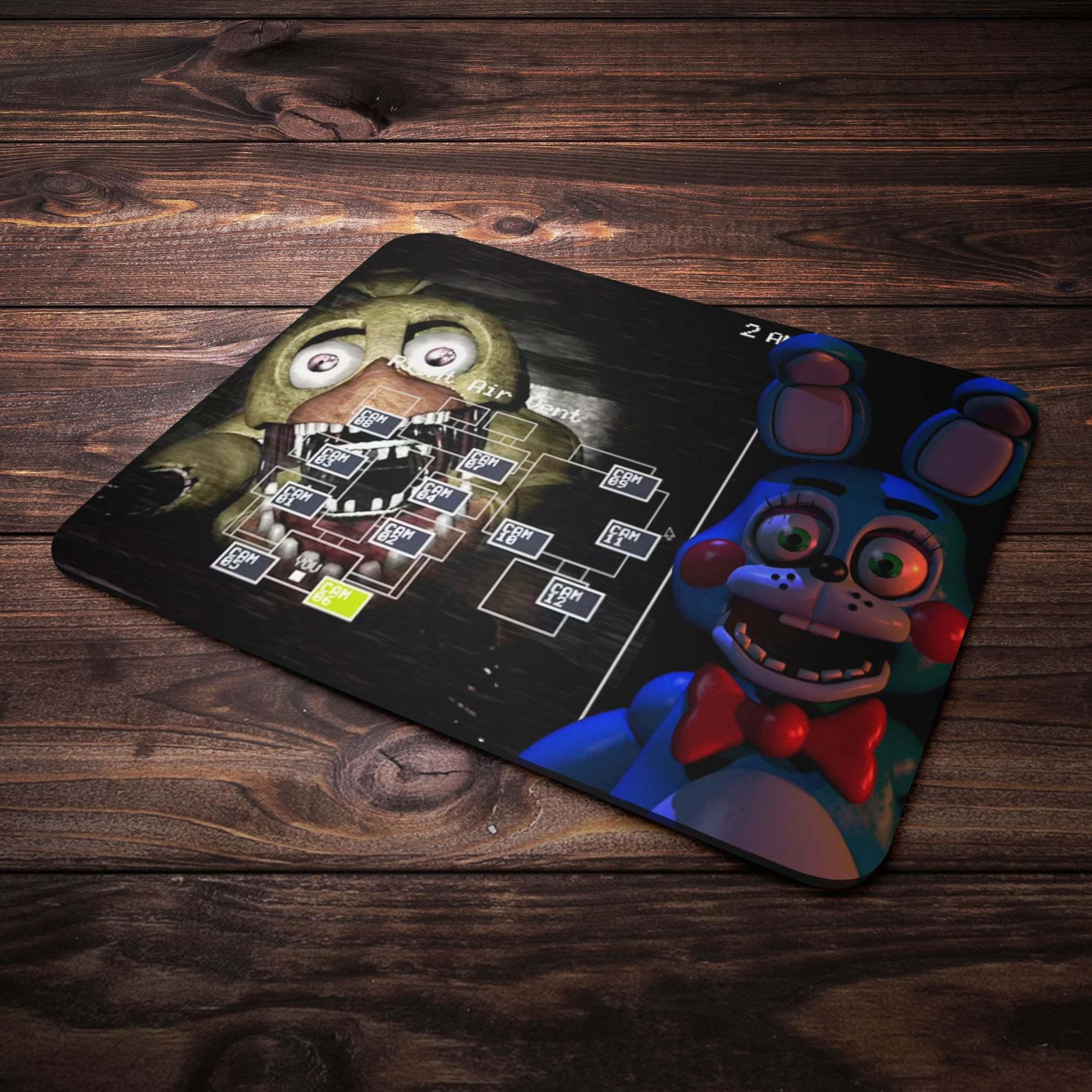 Коврик для мыши с Чикой и Бонни - купить в интернет-магазине kinoshop24.ru