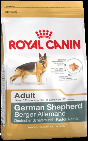 Royal Canin GERMAN SHEPHERD ADULT для взрослых собак породы немецкая овчарка
