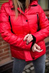 Куртка плащевка с капюшоном женская недорого