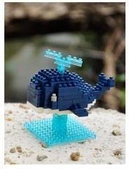Конструктор Wisehawk & LNO Кит 105 деталей NO. B9 Whale Gift Series