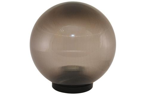 Светильник НТУ 02- 60-205 шар дымчатый с огранкой d=200 мм TDM