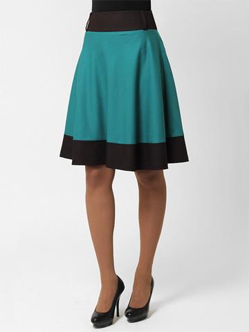 2024-3 юбка зеленая