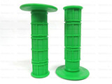 Мото грипсы FAST PRO, мягкие ручки руля, зелёные