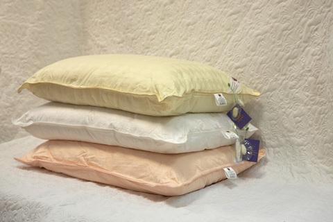 Подушка шелковая  Elisabette Элит 50x70 1.2кг - бежевая