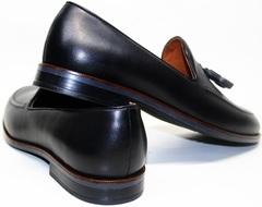 Демисезонные туфли мужские Ikoc BlacK-1