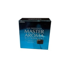 Автомобильный дезодорант на липучке CARALL MASTER AROMA 1858 (platinum shower)
