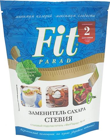 Заменитель сахара ФитПарад №14, допайк 150 гр. (Питэко)