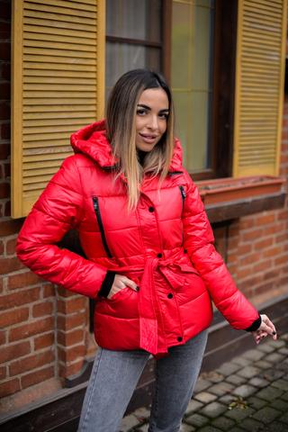 Куртка плащевка с капюшоном женская оптом