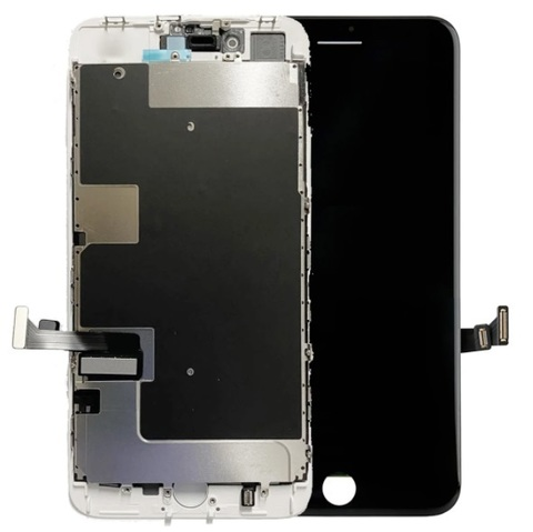 LCD Apple iPhone 8Plus Black (Incell) with Small Parts and Frame
