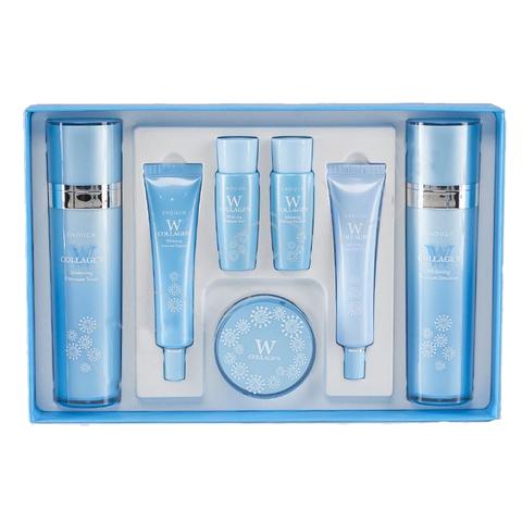 Enough W Collagen Whitening Premium Skin Care 5 Set бьюти-набор осветляющих средств с коллагеном