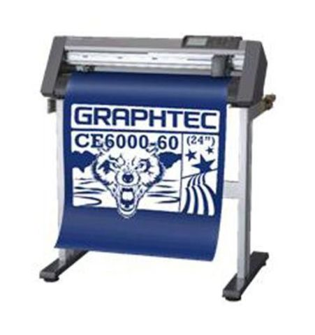 Рулонный режущий плоттер Graphtec CE6000-60ES Plus со стендом