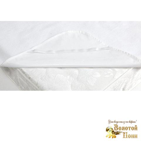 Наматрасник махра/клеенка в детскую кроватку (60х120) 200528-NV901