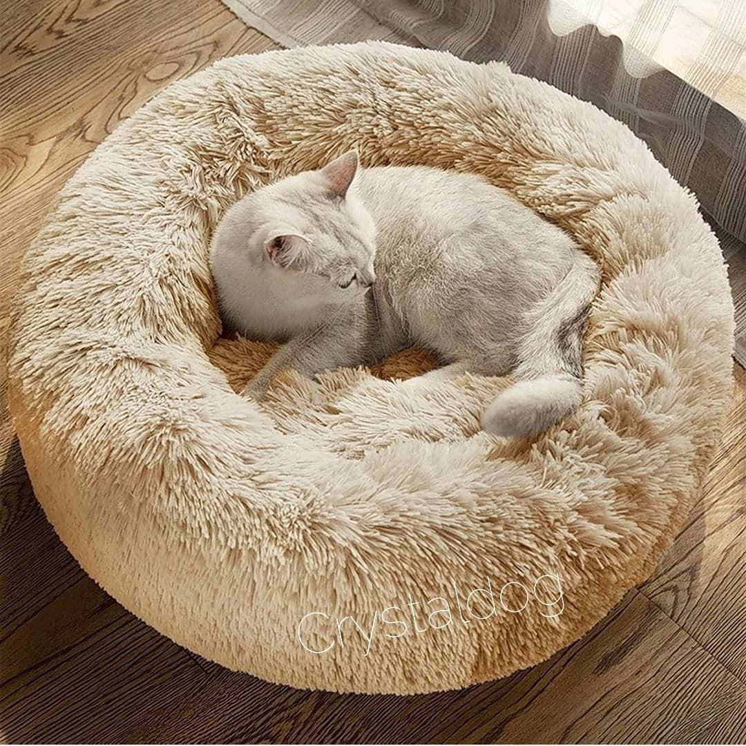 Круглые лежанки для кошек