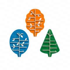 Набор экополок — «Яблонька», «Елочка», «Дубок»