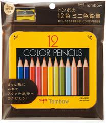 Цветные карандаши Tombow mini-NQ (12 шт)