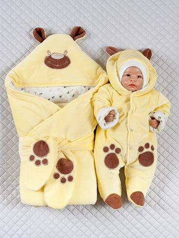 Набор на выписку Little Bear капучино