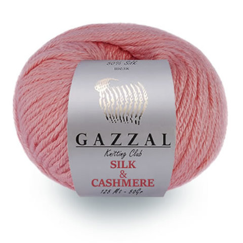 Купить Пряжа Gazzal Silk and cashmere | Интернет-магазин пряжи «Пряха»