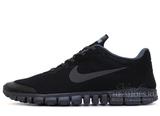 Кроссовки Мужские Nike Free Run 3.0 V2 Triple Black