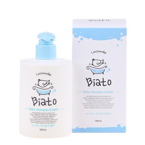 Детский шампунь и пенка для купания Lacouvee Biato Baby Shampoo & Bath