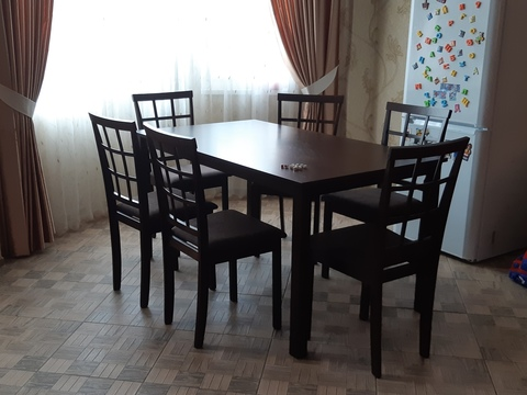 Кухонный деревянный стол Малайзия/Malaysia (110х70)