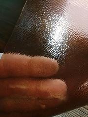 Скатерть коричневая ширина 60 см.