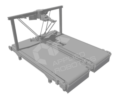 Учебно-лабораторный макет роботизированной линии
