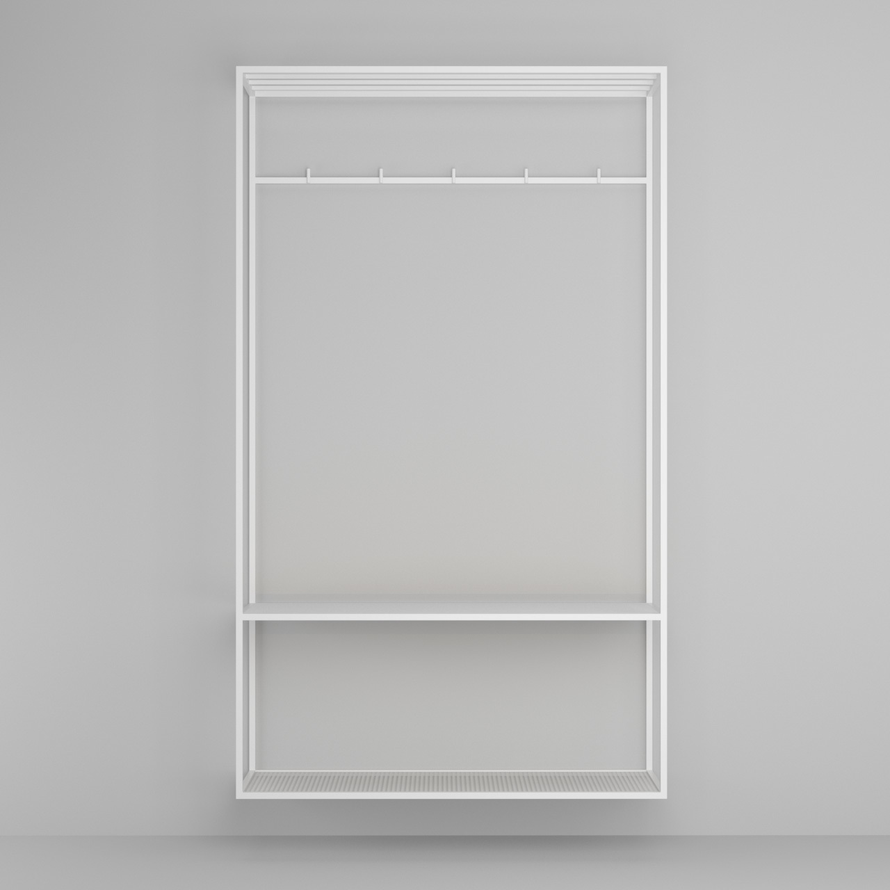 Вешалка Hallra white - вид 6