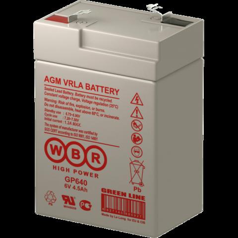 Аккумулятор WBR GP 640