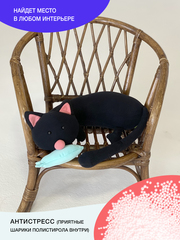 Мягкая игрушка-подушка Gekoko «Кот Барсик» 3