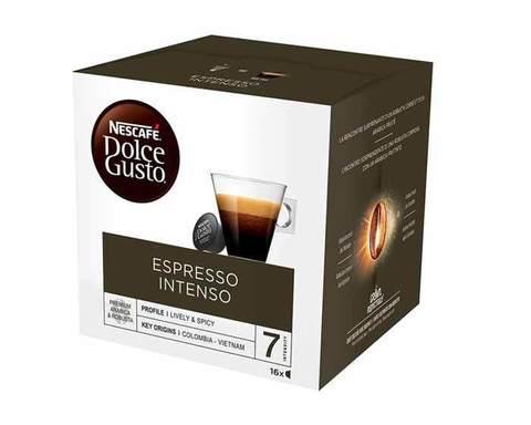 Кофе в капсулах Dolce Gusto Espresso Intenso, 16 капсул