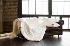 Одеяло пуховое стеганое всесезонное 220x240 «Cashmere Grass»