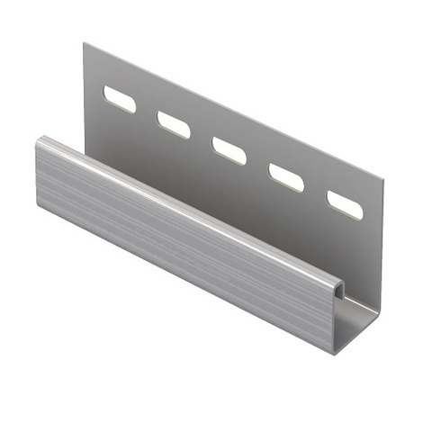 J - профиль Fineber серый 3м