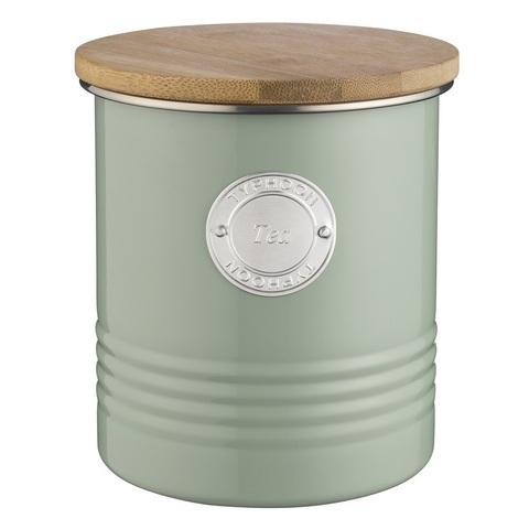 Емкость для хранения чая Living оливковая 1 л