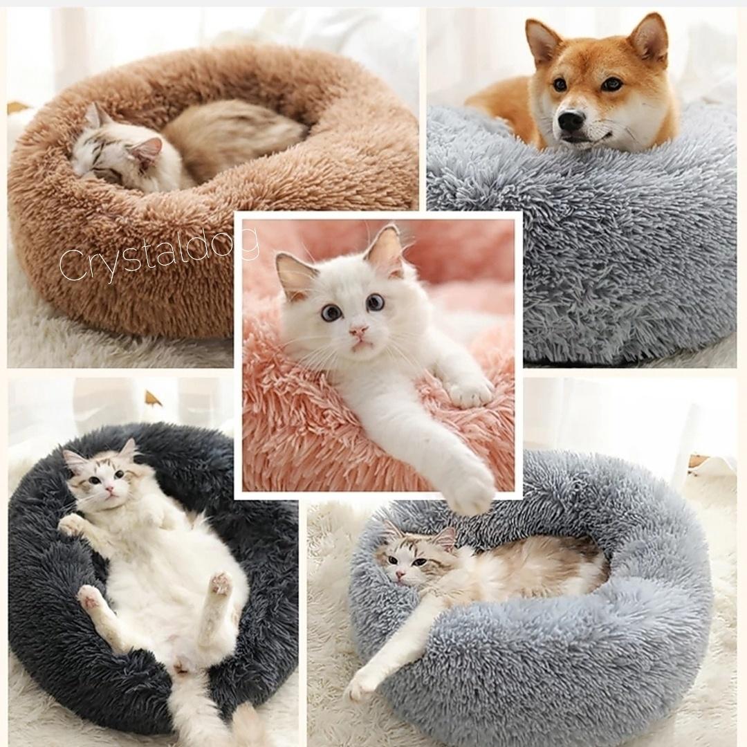 Лежанки для собак пончик