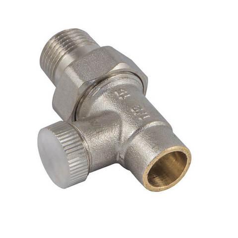 Клапан обратного потока прямой DN 15 1/2 GZ x 15MM