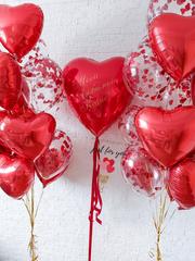 Заказать шарики на 14 февраля