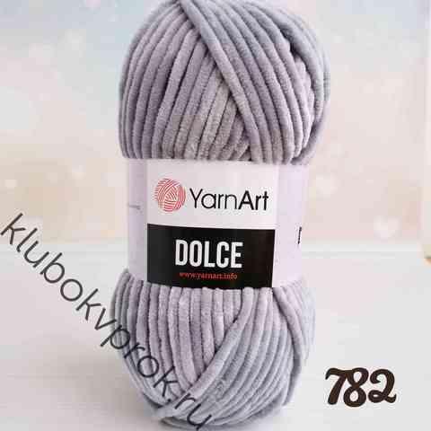 YARNART DOLCE 782, Светлый серый
