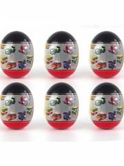Конструктор LOZ mini Школьный автобус Игрушка в яице 92 детали NO. 4009-6 School bus Toy in egg Series