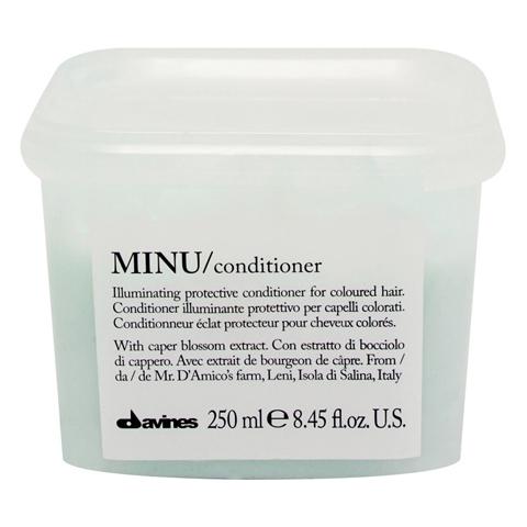 Davines Essential Haircare MINU: Защитный кондиционер для сохранения косметического цвета волос (Minu Conditioner)